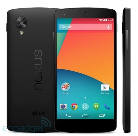 Nexus 5 - Play Store