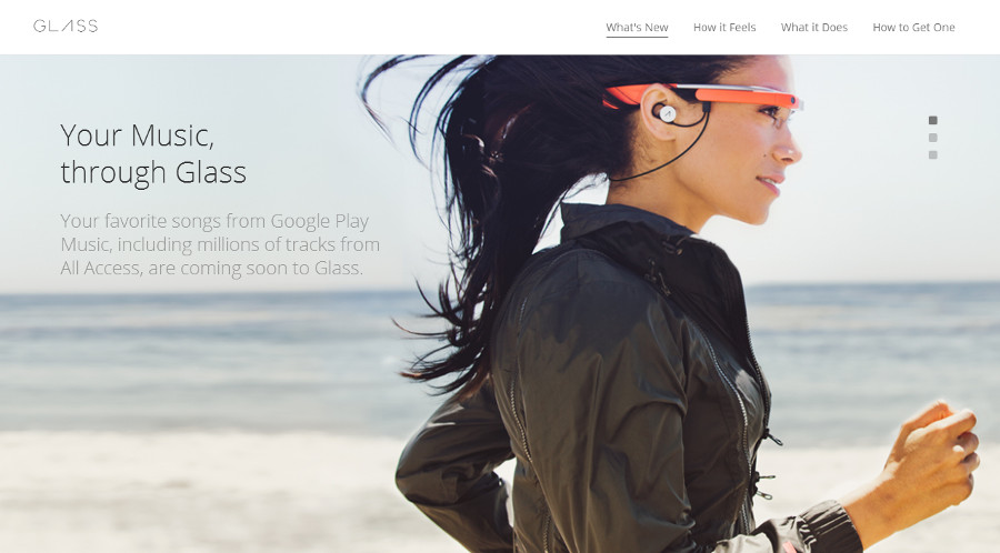 Google Glass Music