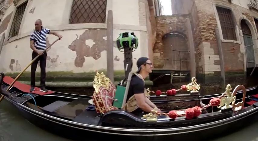 Google Street View Venedig