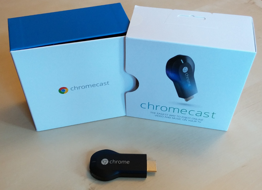 unboxing google chromecast das internet auf den. Black Bedroom Furniture Sets. Home Design Ideas