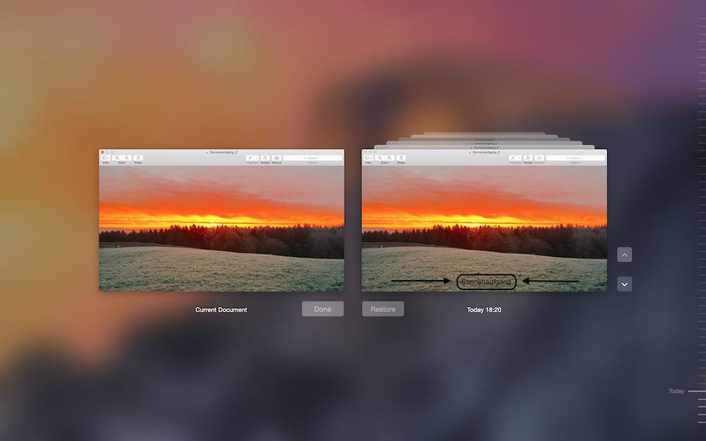 Bildbearbeitung Mac OS X Yosemite