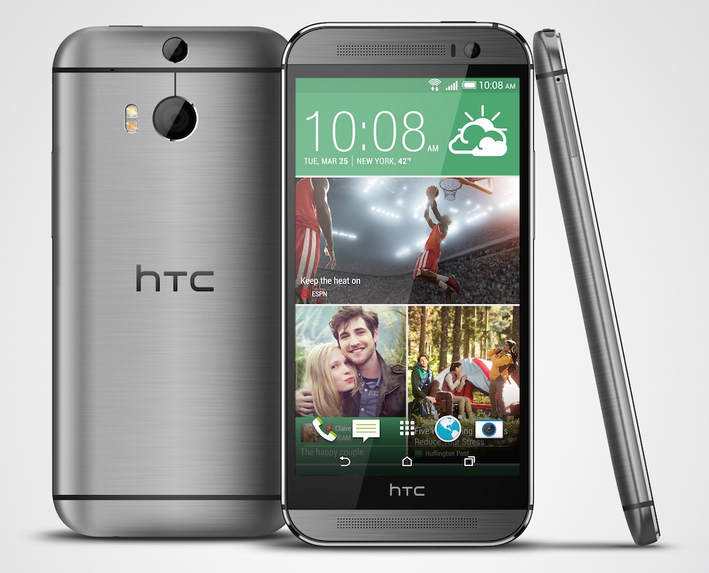 Das HTC One M8 (Bild: Press Images HTC).