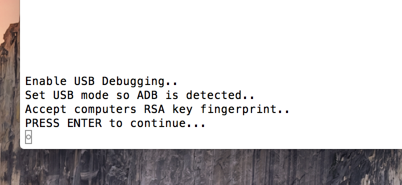 OS X Terminal