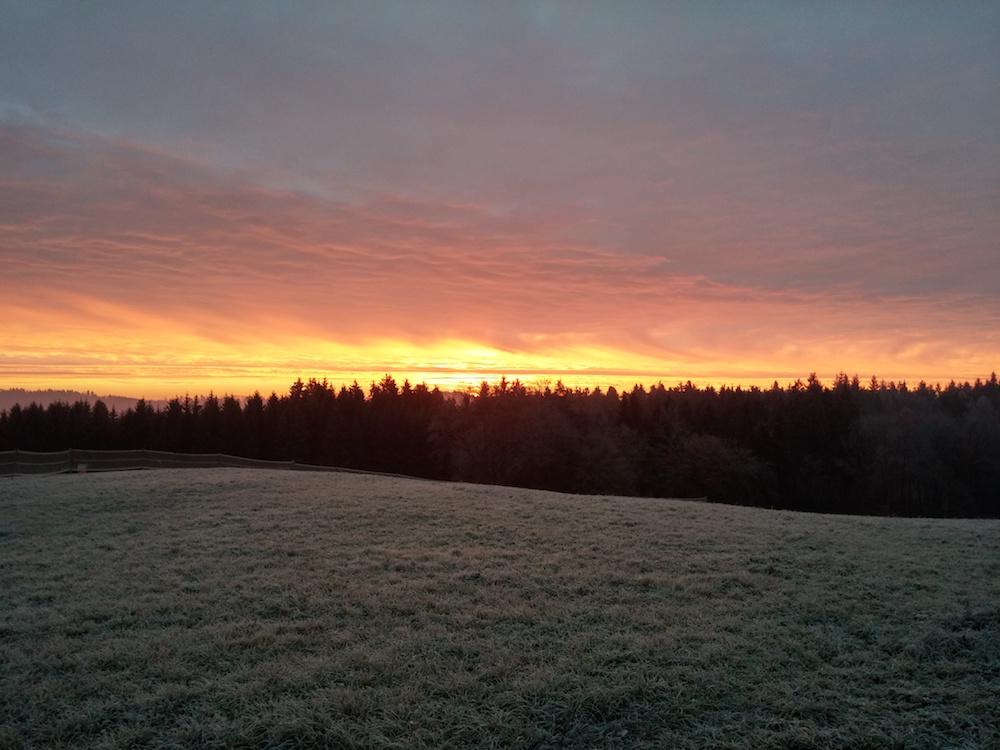 Aufgenommen in der Nähe von Welzheim (Bild: Benjamin Blessing).