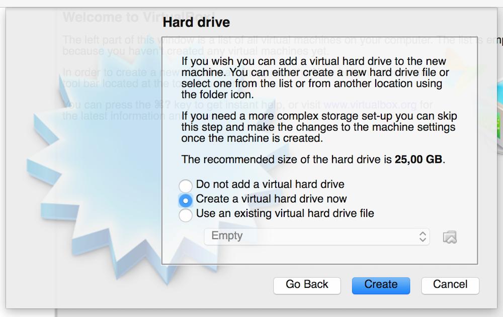 VirtualBox OS X