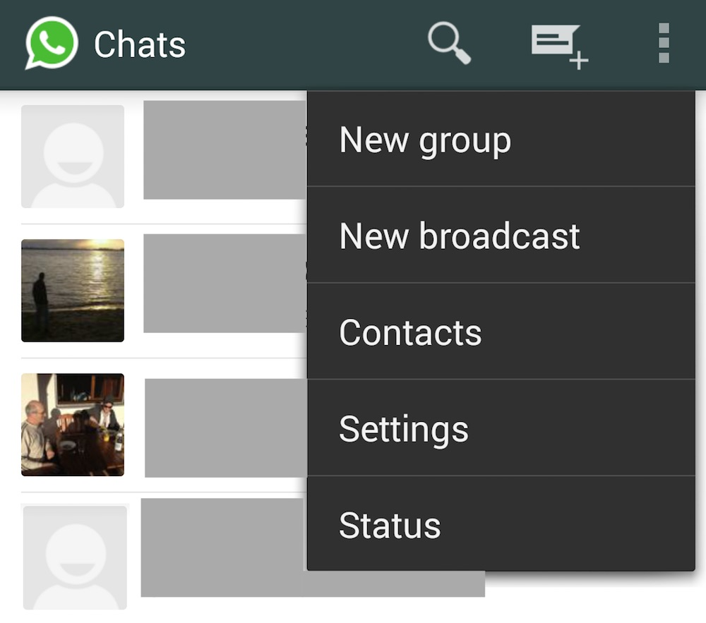 WhatsApp Broadcast Funktion