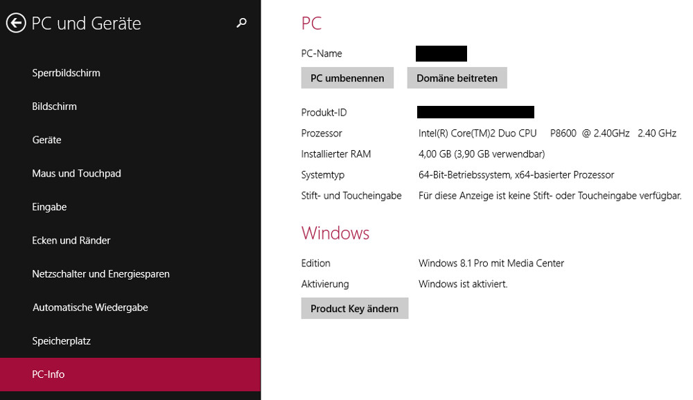 Windows 8 legal downloaden