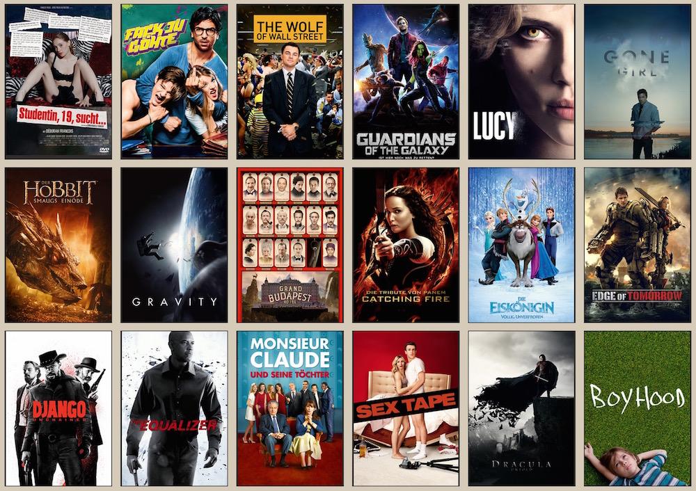 Beliebteste Filme auf WerStreamt.es (Bild: Screenshot WerStreamt.es).