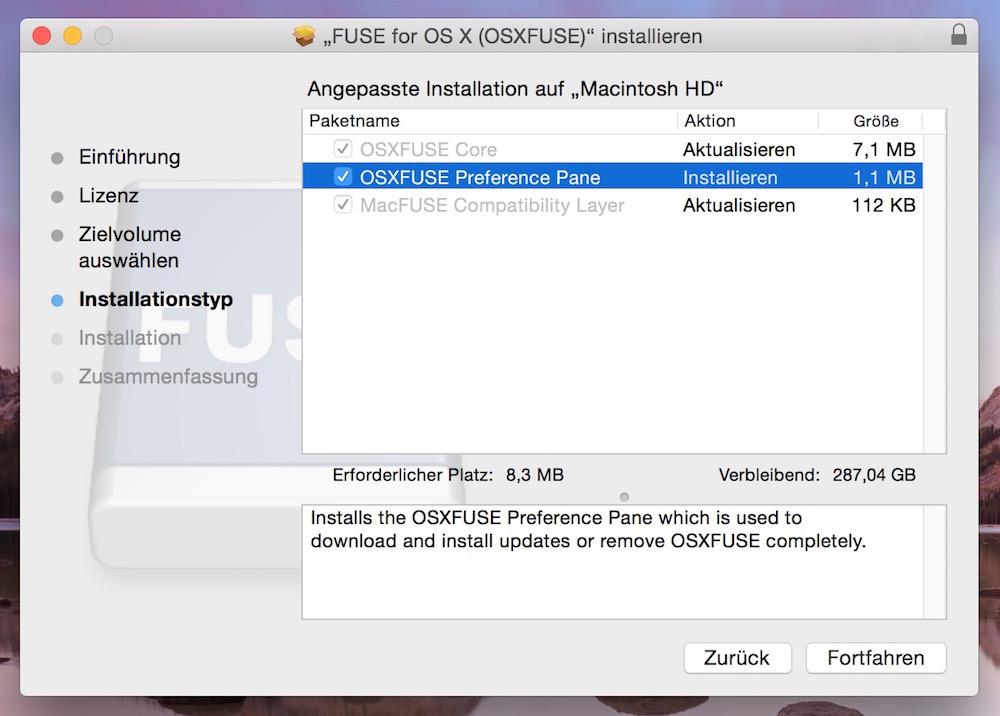 Fuse für macOS macht den Mac NTFS schreibfähig