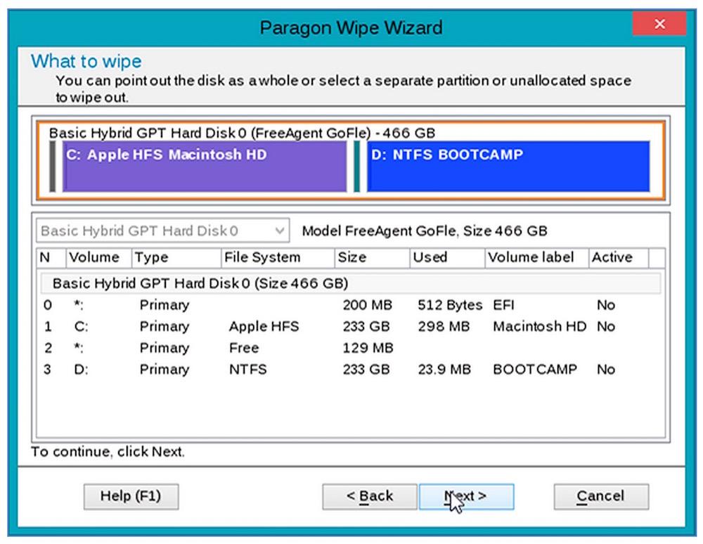 Paragon Disk Wiper hilft beim rückstandslösen Löschen von SSD Festplatten (Bild: Screenshot Paragon-Software.com).