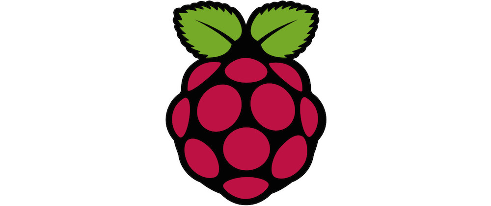 Raspberry Pi Logo (Bild: Wikipedia.de).