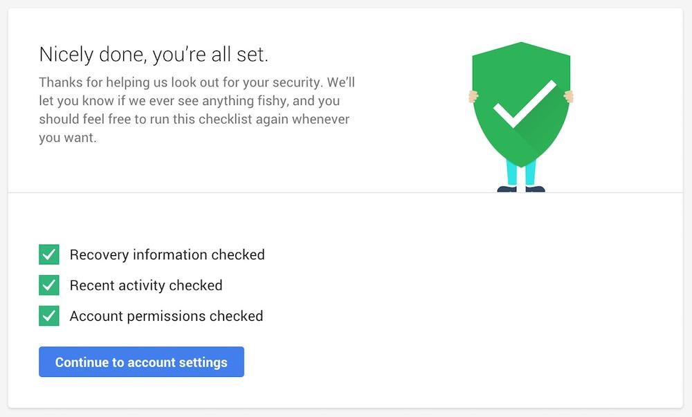 Google Sicherheitscheck gibt 2 GB extra Speicher für Google Drive (Bild: Screenshot Google).