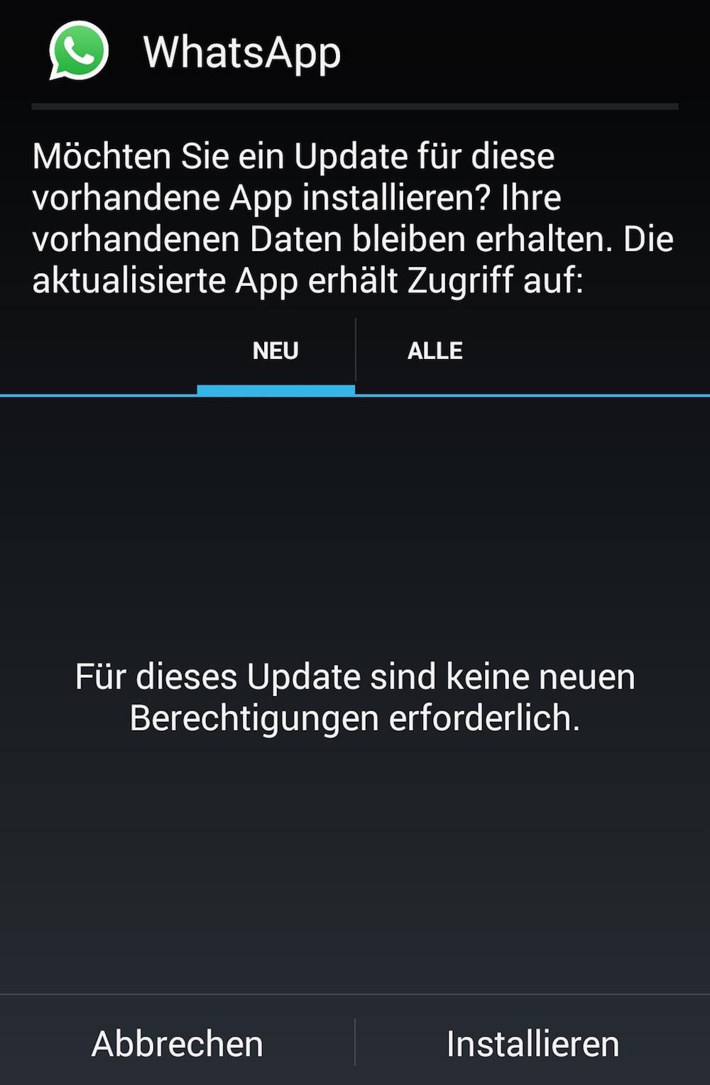 Chats installieren whatsapp neu WhatsApp löschen