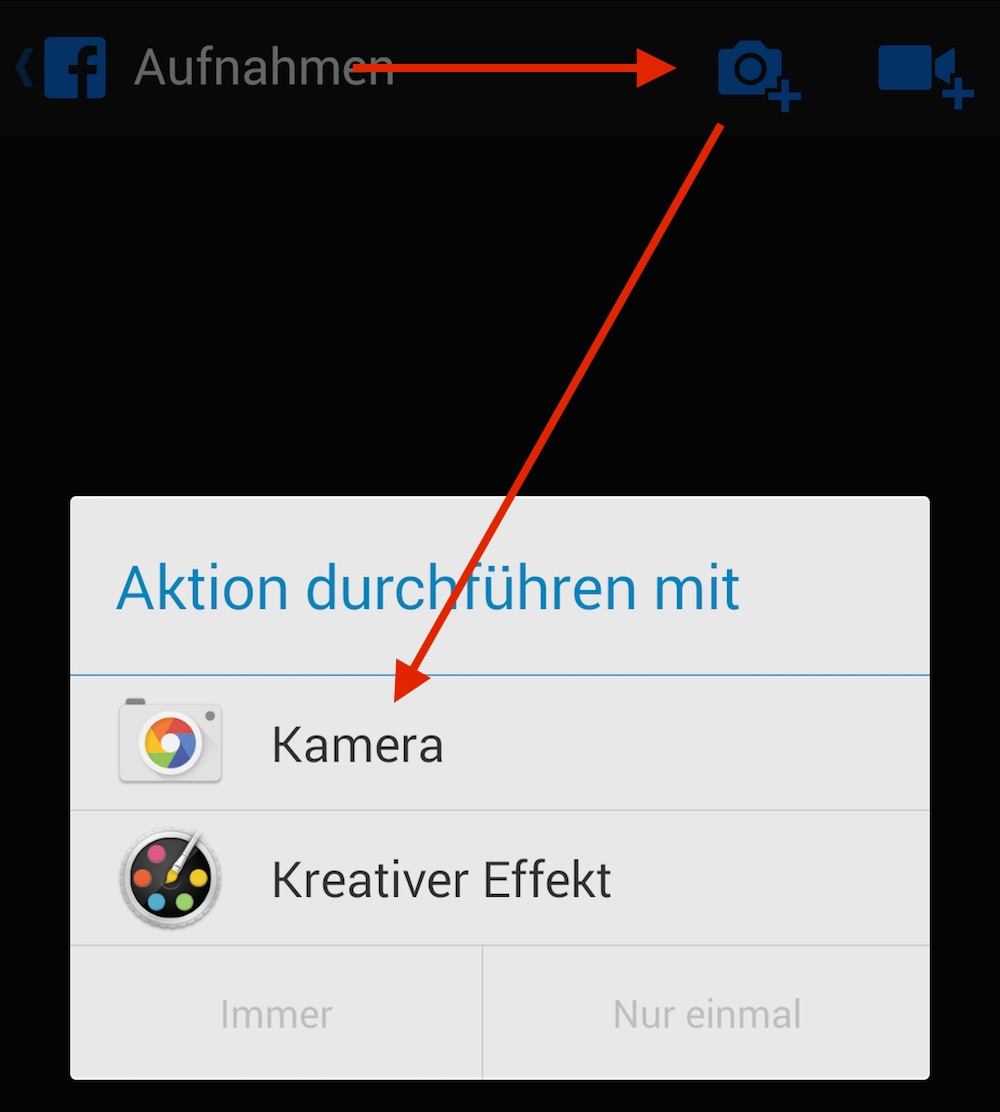 Android Standard-App festlegen (Bild: Screenshot Android).