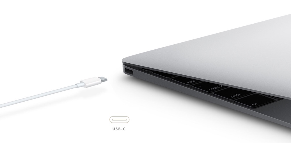 USB Typ-C im neuen MacBook (Bild: Screenshot Apple.de).