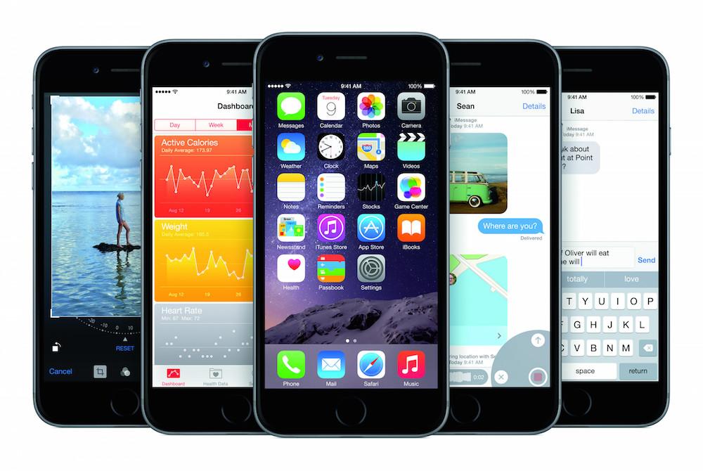 Apple iOS 8 (Bild: Apple Press Images).