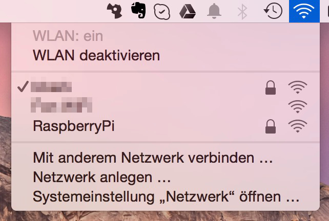 RaspberryPi WLAN Access Point einrichten (Bild: Screenshot).