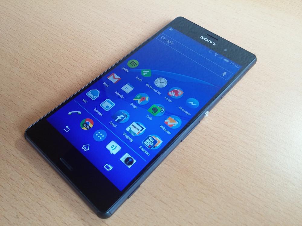 Sony Xperia Z3 (Bild: Copyright Benjamin Blessing).