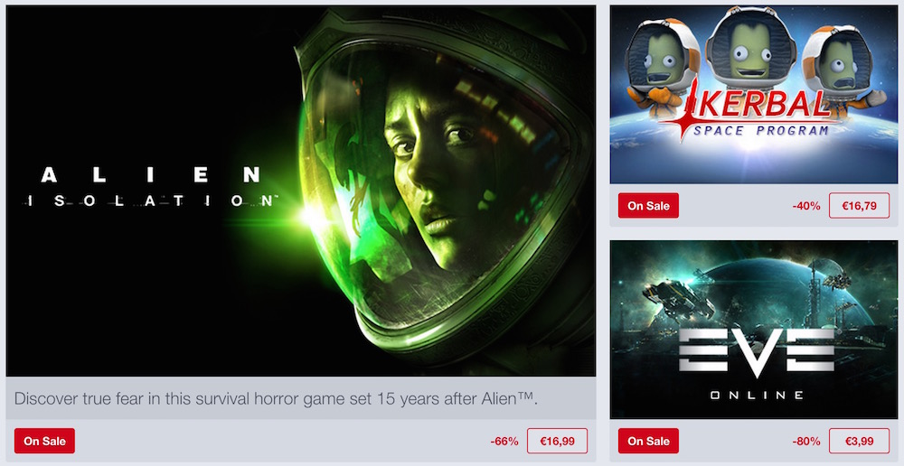 Humble Bundle Space Weekend Sale (Bild: Screenshot Humble Bundle).