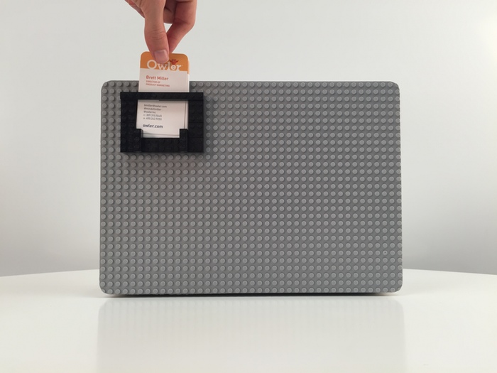 Brick Case Business Card Holder