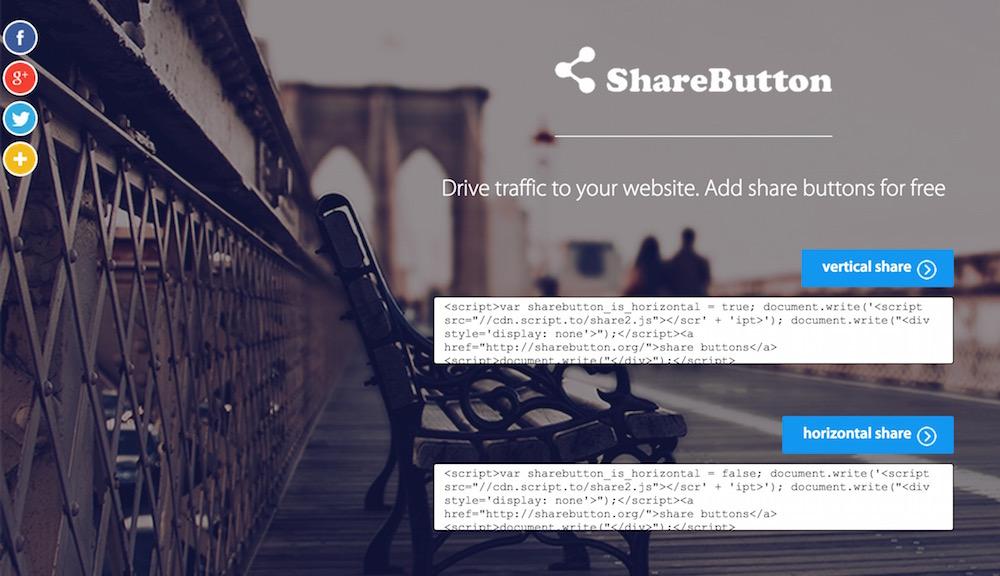 ShareButton.to wirbt für ein extrem zweifelhaftes Geschäftsmodell (Bild: Screenshot ShareButton.to).