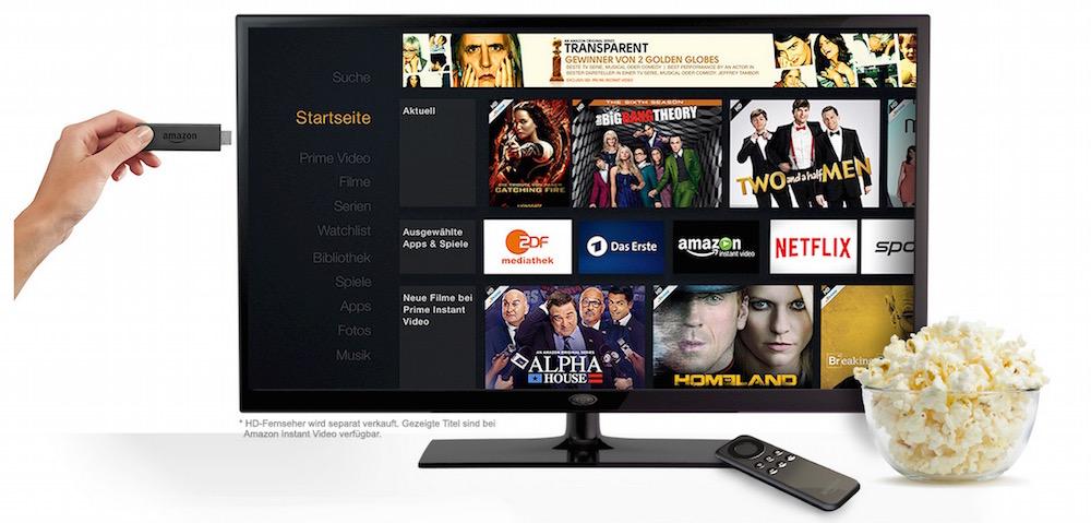 Amazon Fire TV Stick (BIld: Amazon).