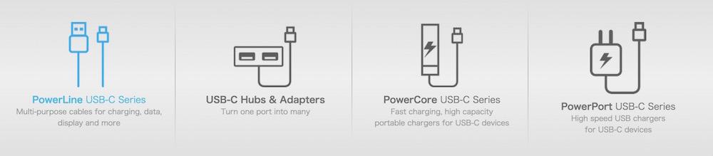 Neues USB-C Zubehör von Anker (Bild: Screenshot Anker).