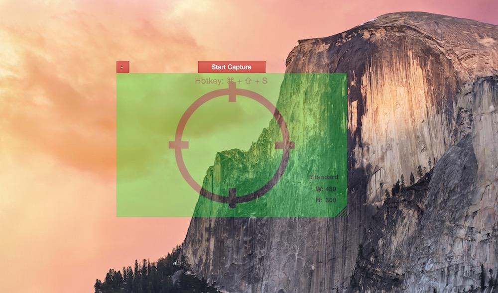 GifGrabber für OS X zum Erstellen von Gif-Dateien (Bild: Screenshot OS X).