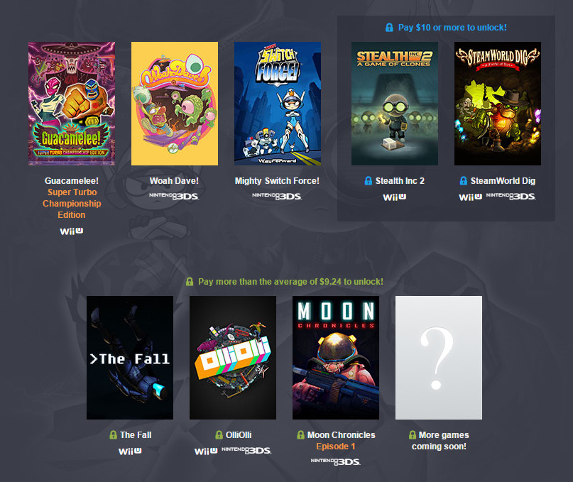 Humble Nindie Bundle (Bild: Screenshot Humble Bundle).