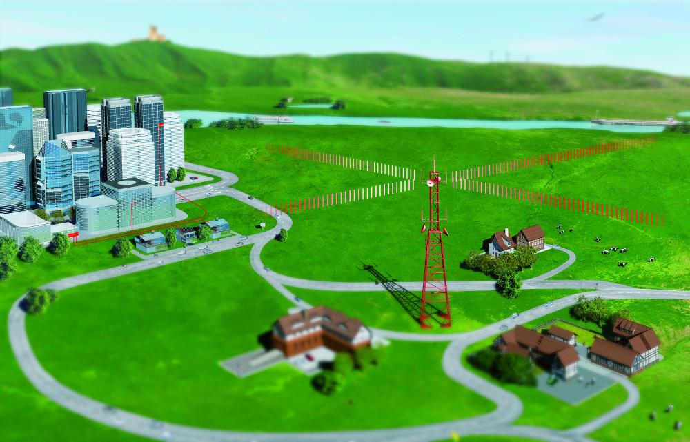 LTE verbindet Haushalte auf dem Land mit schnellem Internet (Bild: Vodafone Pressebilder).
