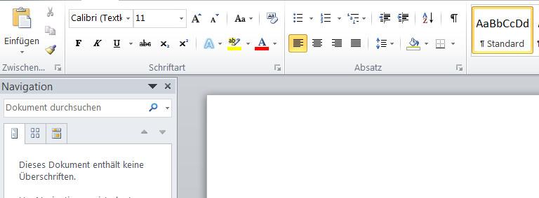 Word kann mehr als auf den ersten Blick vermutet (Bild: Screenshot Word).