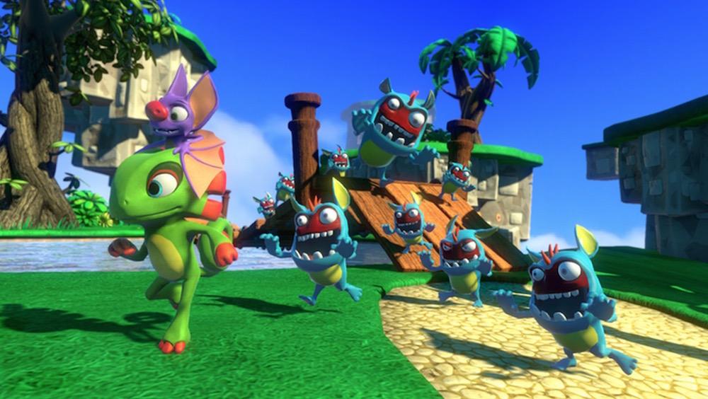 Yooka-Laylee als indirekter Banjo-Kazooie Nachfolger (Bild: Kickstarter).