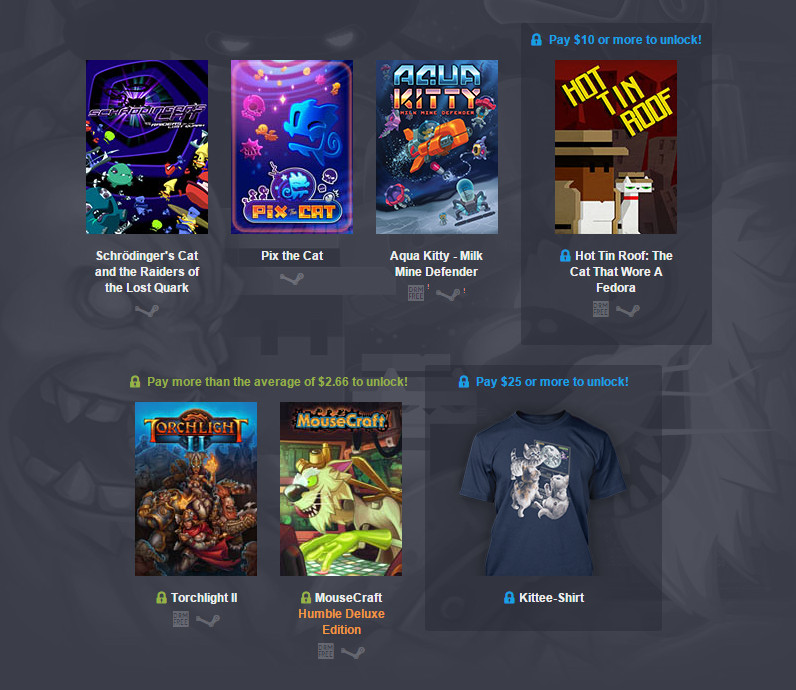 Humble Bundle Torchlight II (Bild: Screenshot Humble Bundle).
