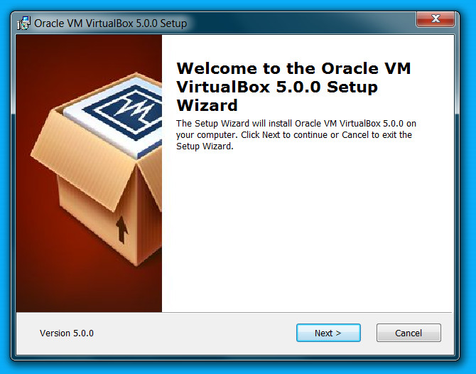 VirtualBox 5.0 installieren (Bild: Screenshot Windows 7).