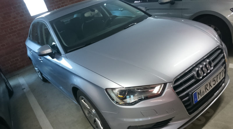 Audi A3 Limousine in silber