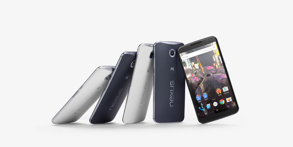 Google Nexus 6 (Bild: Google Store).