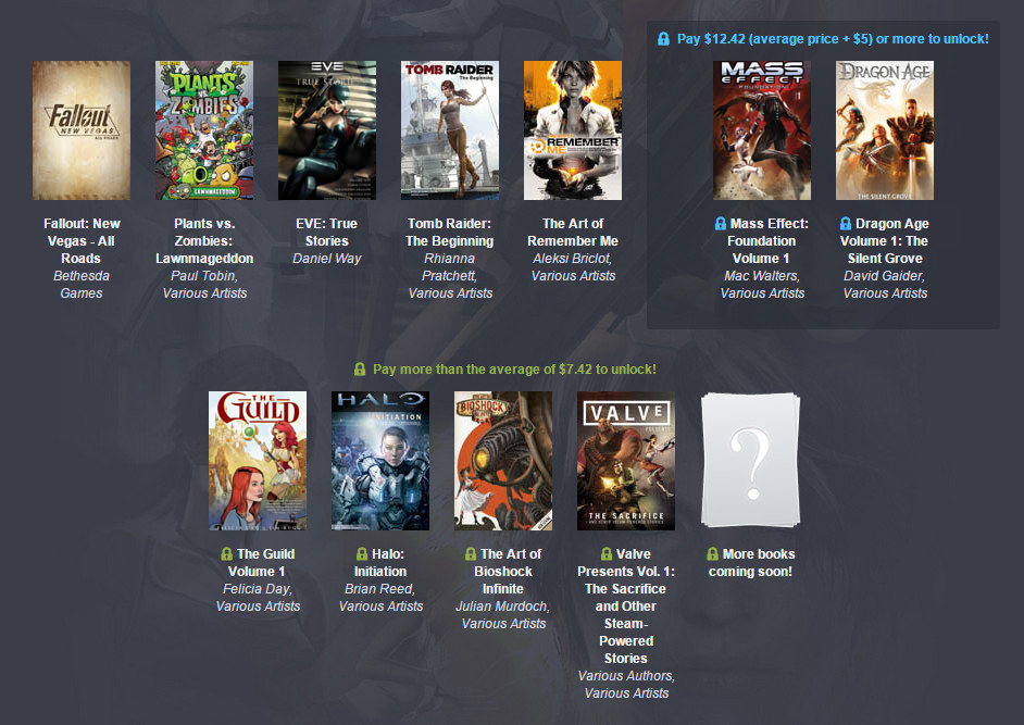 Humble Gamer Comics Bundle (Bild: Screenshot Humble Bundle).