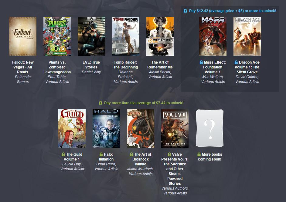 Humble Gamer Comics Bundle (Bild: Screenshot Humble Bundle).