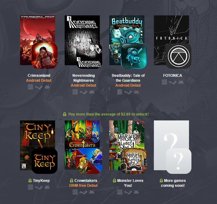 Humble PC & Android Bundle 13 (Bild: Screenshot Humble Bundle).