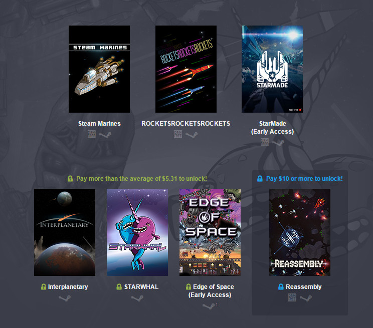 Humble Weekly Bundle Return of Space Boy (Bild: Screenshot Humble Bundle).