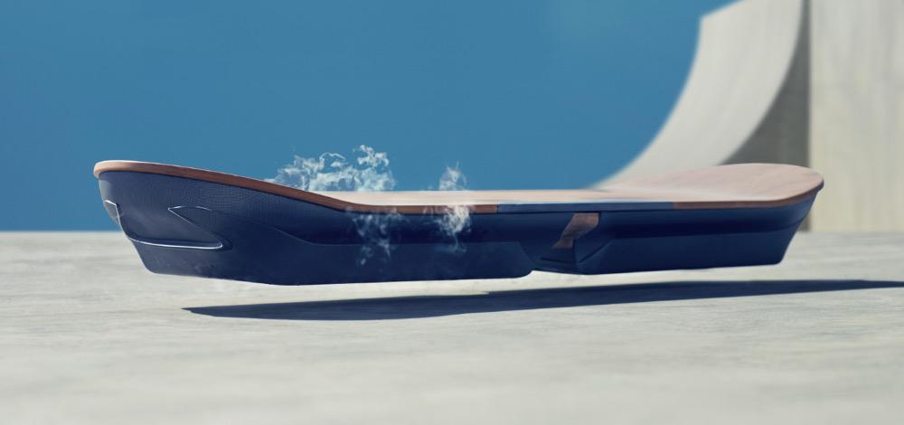 Das Hoverboard von Lexus (Bild: Screenshot Lexus).