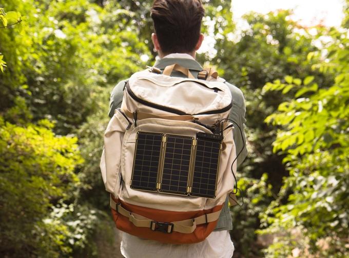 Solar Paper ist modular und kann um weitere Panels erweitert werden (Bild: Kickstarter).