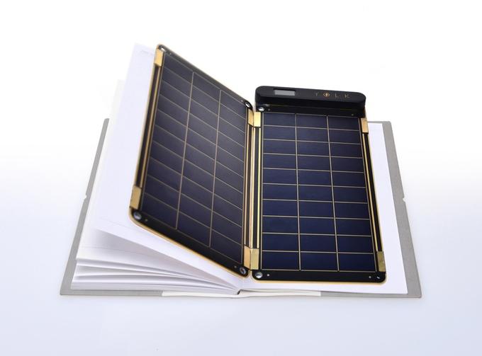 Solar Paper: Das Solarladegerät (Bild: Kickstarter).