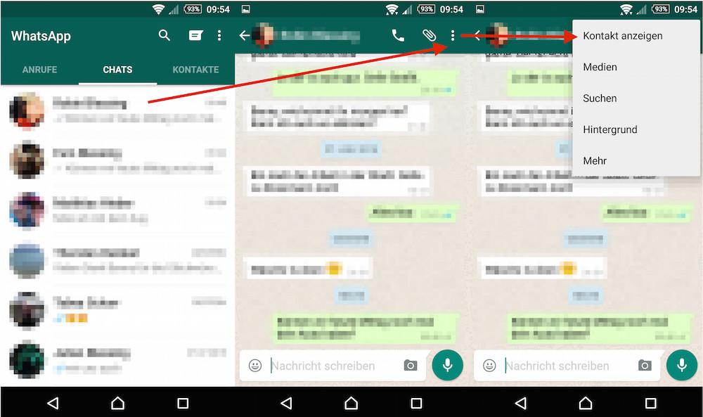 WhatsApp Chat Benachrichtigungen: Pop-Ups aktivieren (Bild: Screenshat WhatsApp).