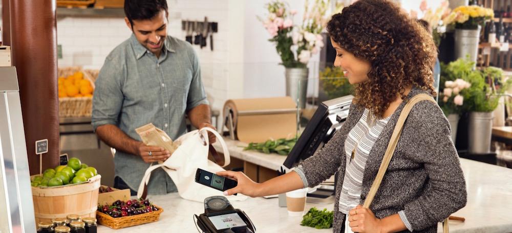 Mit Android Pay kontaktlos bezahlen (Bild: Screenshot Android.com).