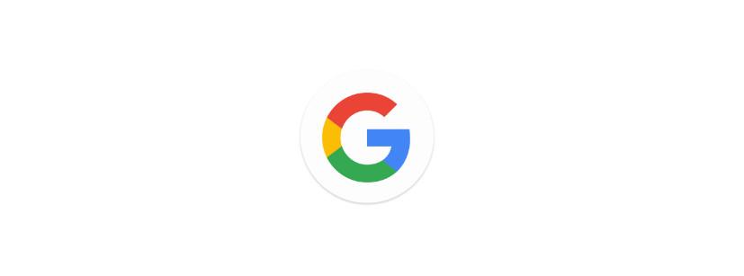 Das neue G für Google (Bild: Screenshot Google Blog).