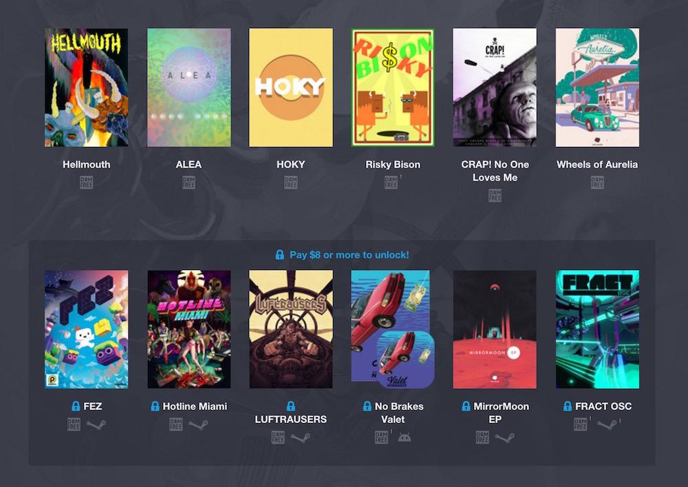 Humble Weekly Bundle: Fantastic Arcade (Bild: Screenshot Humble Bundle).