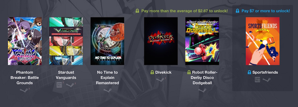 Humble Weekly Bundle -Super Slam Showdown (Bild: Screenshot Humble Bundle).