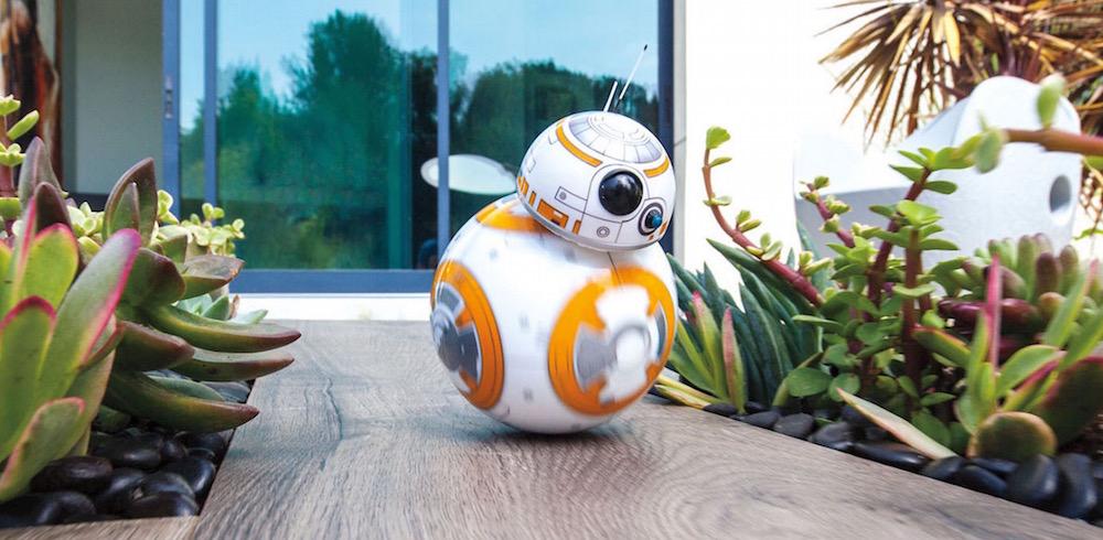 Star Wars BB8-Droid von Sphero gibt es jetzt zu kaufen (Bild: Screenshot Sphero).