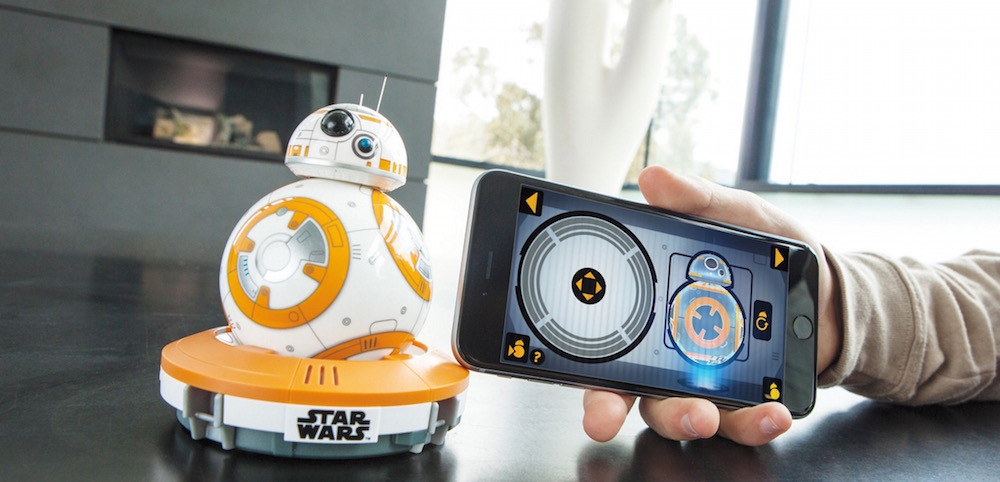 BB8-Droid von Sphero soll 150 US Dollar kosten (Bild: Screenshot Sphero).